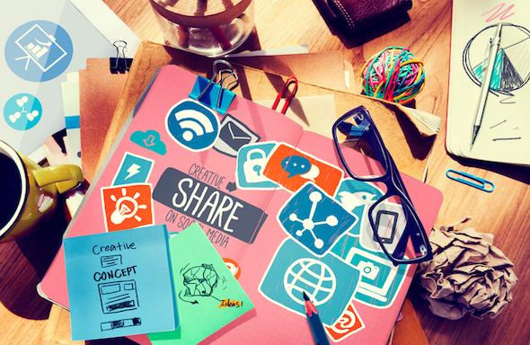 redes sociales colegios