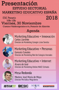 ESTUDIOS MARKETING EDUCATIVO