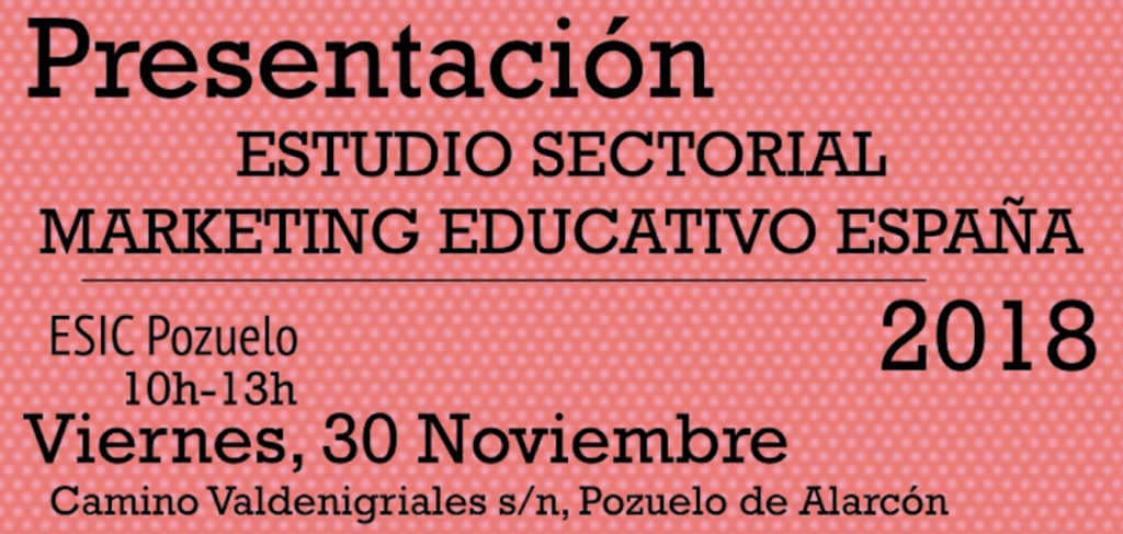 estudio marketing educativo